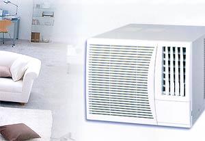 Aire acondicionado de ventana for Salida aire acondicionado